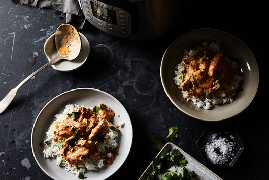 "Urvashi Pitre's ""Now & Later"" Instant Pot Butter Chicken"
