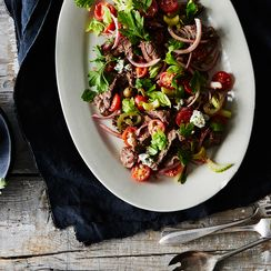 Bloody Mary Steak Salad
