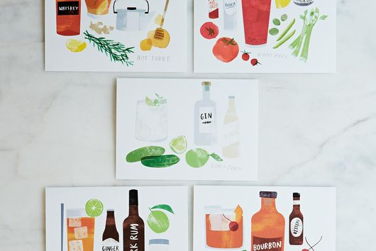 Cocktail Cards (Set of 8)