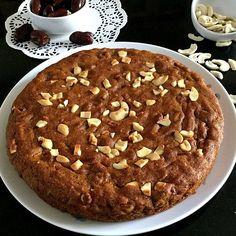 Dates and Cashew Cake (vegan)