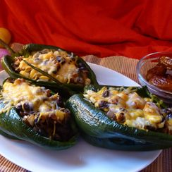 Date-Infused Chili Rellenos