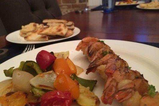 Lemony Grilled Shrimp