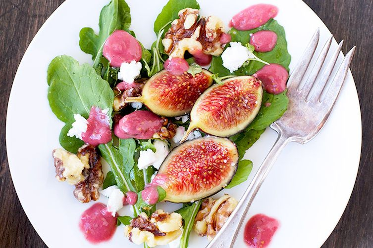 Fresh Fig Arugula Salad