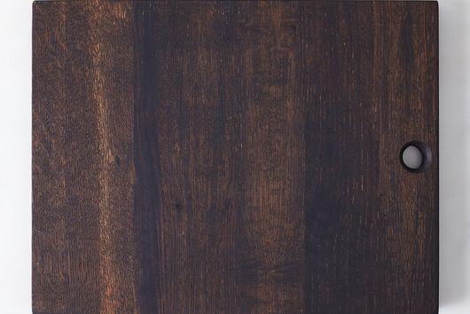 Oxidized Oak Serving Board