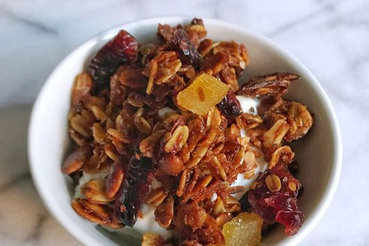 Cranberry Ginger Granola