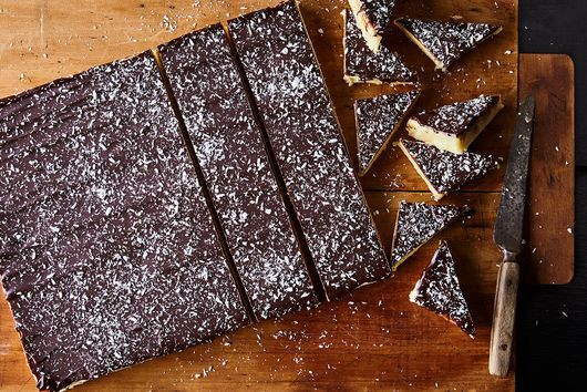 Dark Chocolate Coconut-Orange Burfi