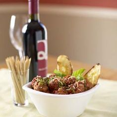 POLPETTINI: LITTLE MEATBALLS WITH MELTED FONTINA CENTERS