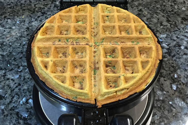 pakora waffle