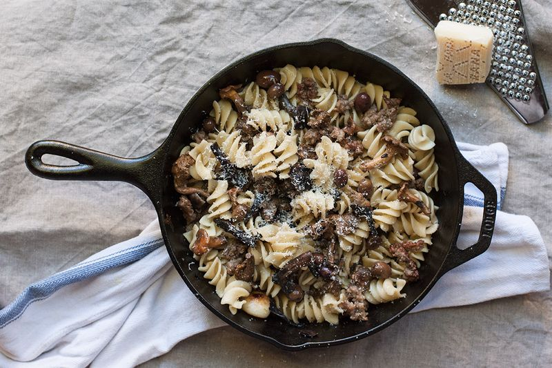 A Mushroom Pasta That Happily Accepts Almost Any Mushroom
