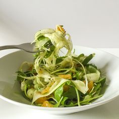 Shaved Fennel Salad With Orange-Coriander Dressing
