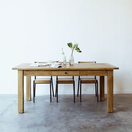 French Farm Table & Extension