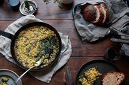 Laurie Colwin's Creamed Spinach