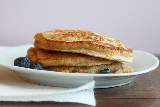 Buttermilk Blueberry-Lemon Pancakes