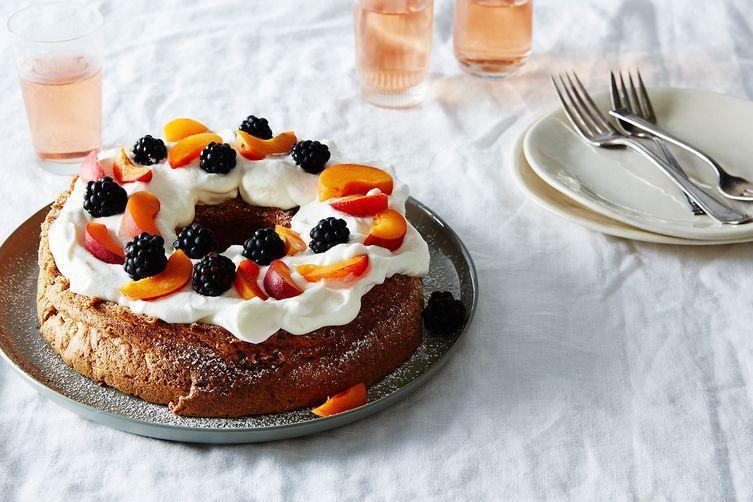 Walnut Sponge Cake