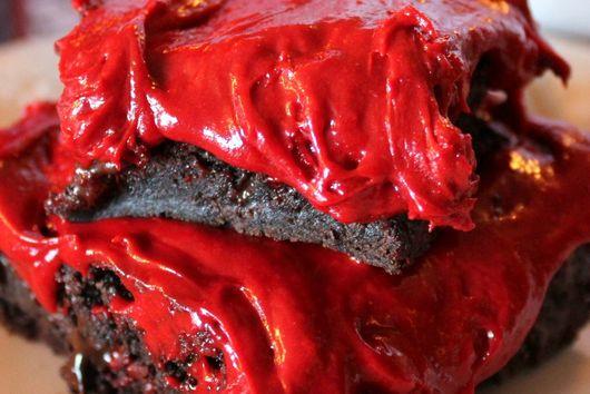 Scarlet Brownies!