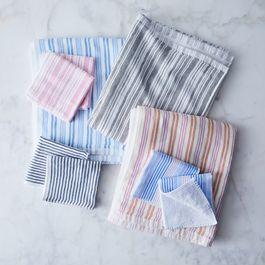 Shirt Stripe Japanese Bath Towels