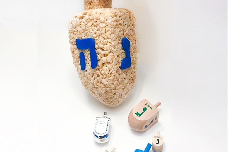 Rice Krispies #TreatsForToys – Dreidel