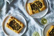 Scallion Crostatas