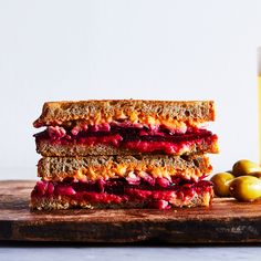 Reuben Cheese (and a Beet Reuben)