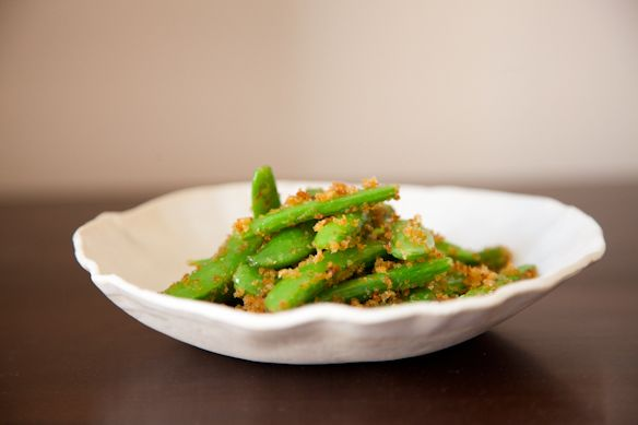 Snap peas from Food52
