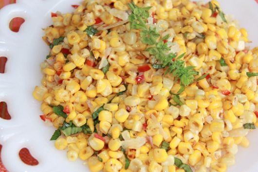 Simple Corn Sauté with a Kick
