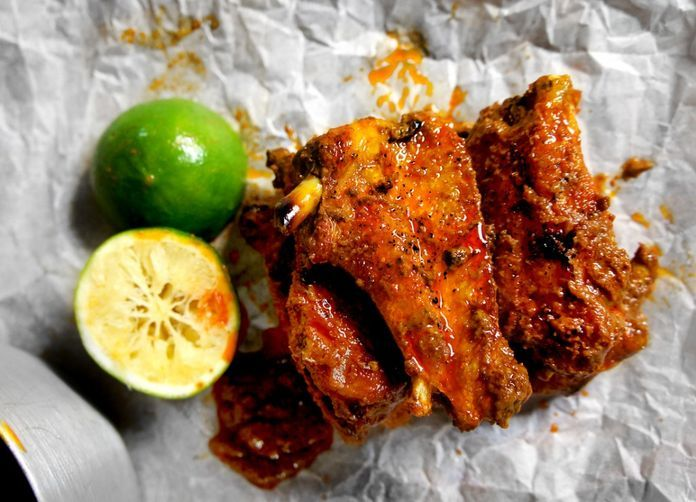Red Curry Chicken Wings from FOod52