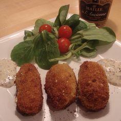 Chicken Mustard Croquettes