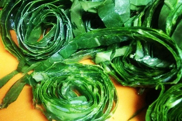 Zesty and Zippy Tangled Collards