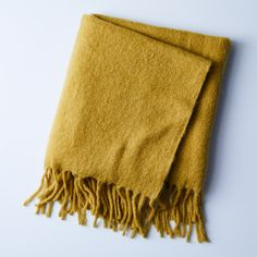 Simple Mohair Throw