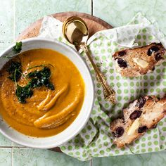 Warming Pumpkin & Walnut Soup