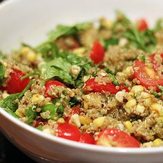 Summer Quinoa Salad, Mexican-Style