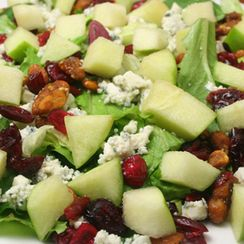 Apple Salad with Cinnamon Cider Vinaigrette