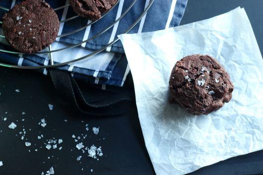 Triple Chocolate Chip Cookies