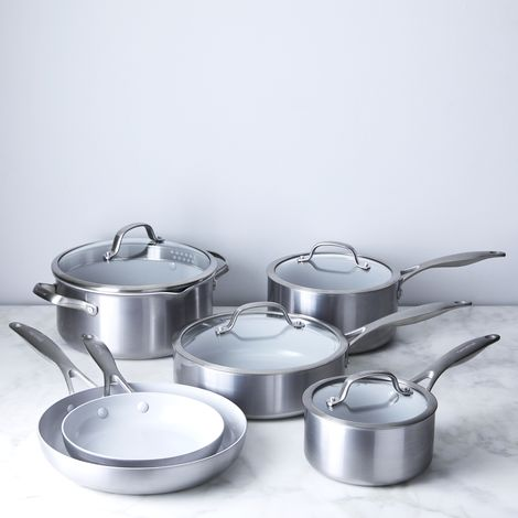GreenPan Venice Pro 10-Piece Nonstick Cookware Set