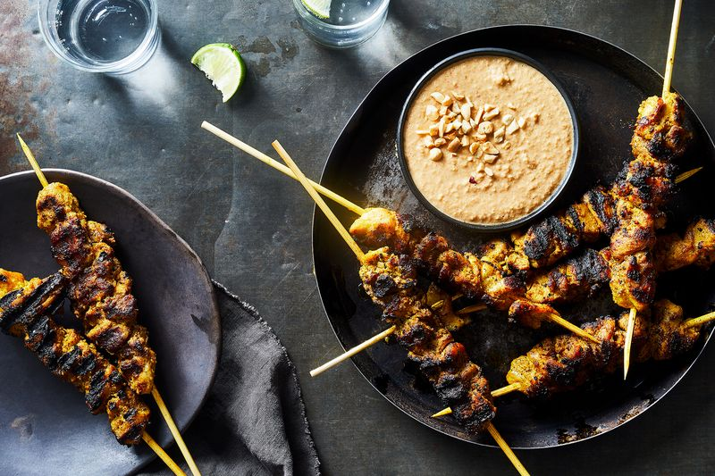 The true test of a satay's character lies in its peanut dipping sauce