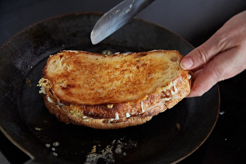 The Perfect Grilled Cheese on Food52