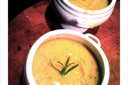 Chickpea Soup with Rosemary
