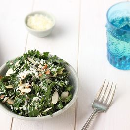 Toasted Sesame Kale Salad