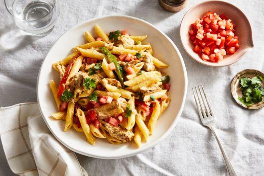 The Recipe Critic's Creamy Pork Carnitas Pasta