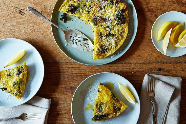 Andrew Feinberg's Slow Baked Broccoli Frittata