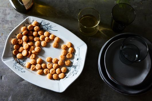 Spicy Cheese + Smoked Paprika Coins