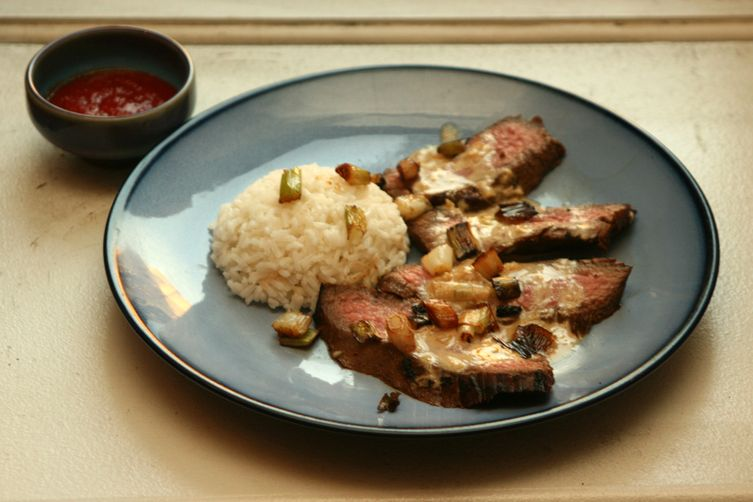 Flank Steak Chinois
