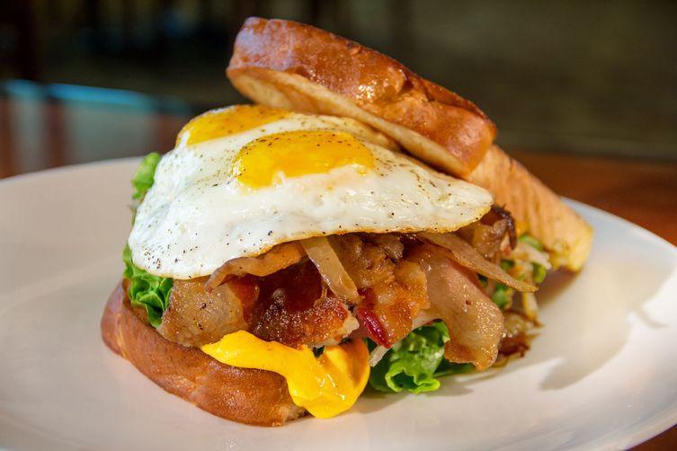 Loaded Egg Sandwich