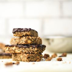 Chocolate Coated Nuts and Seeds Granola Bars