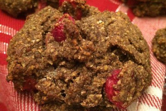 Cranberry Double-Buckwheat Scones