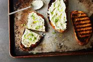 Grilled Green Onion Dip
