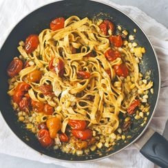 End of Summer Tagliatelle