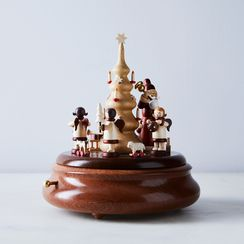 Handcrafted German Music Box & Base