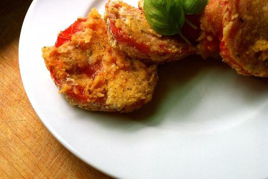 Vegan Cornmeal-Crusted Fried Tomatoes