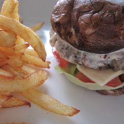 Gourmet Portobello Mushroom Burger